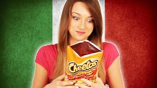 Italians Try American Snacks