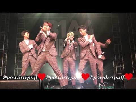 FANCAM - B1A4 - Crushing On You Again - Four Nights In US - LA - 170220