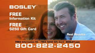 Bosley Commercial - Real Guys Real Deal