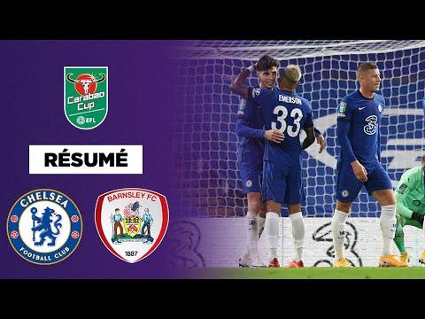 Résumé - Carabao Cup : Havertz voit triple et Chelsea détruit Barnsley