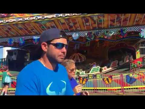 Lexie on Love Bug ride State Fair 10-9-17