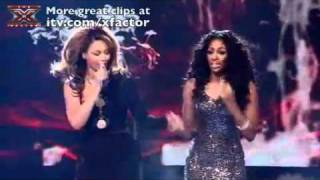 The X Factor 2008: One of the bonuses for the contestants is to get to duet with an idol of theirs, but 2008 X Factor winner Alexandra had a dream come true ...