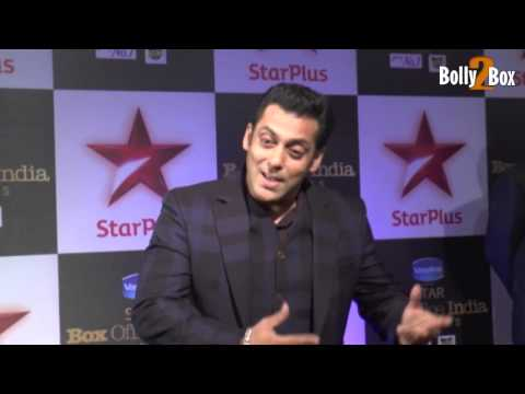 Salman Khan at Star Plus First Ever Star Box Office Awards 2014