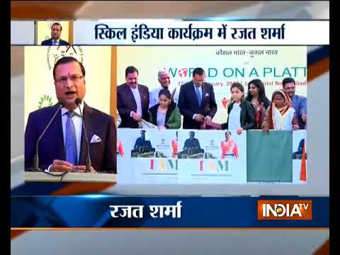 India TV Editor-in-chief Rajat Sharma calls for making 'Skill India' a big success