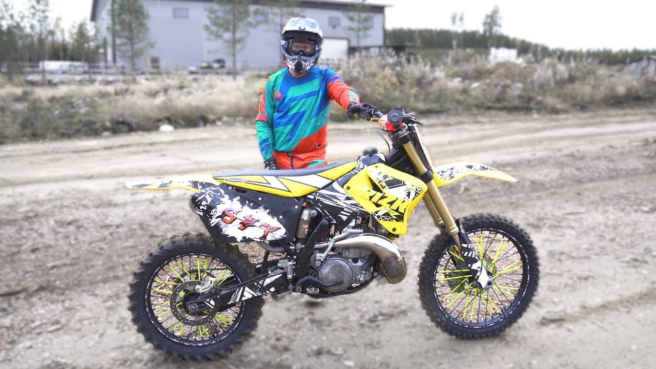 Suzuki Rm 250 Test Ride