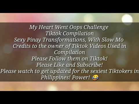 HOTEST PINAY TIKTOK MY HEART WENT OOPS CHALLENGE PART 2 2020 (Slow Motion)