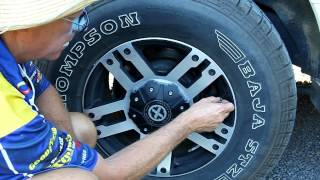 How to check tyre pressure