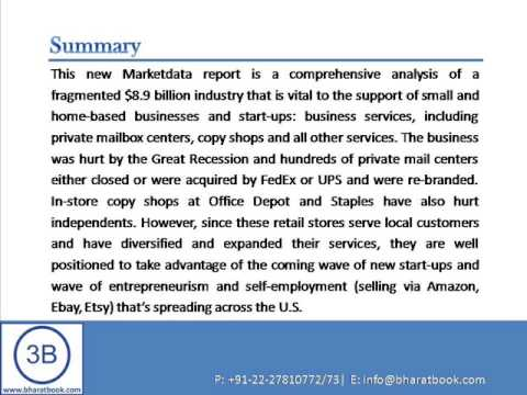 U.S. Private Mail Centers & Copy Shops - Business Services