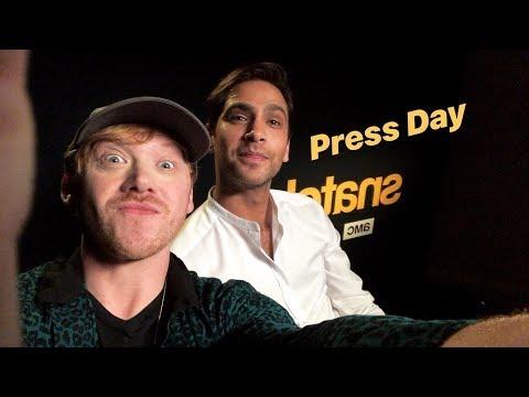 Rupert Grint & Luke Pasqualino  Facebook Live Q&A