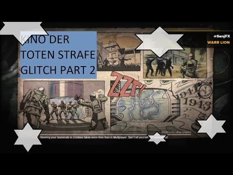 KINO DER TOTEN GLITCH OUT OF MAP PS3 - YouTube