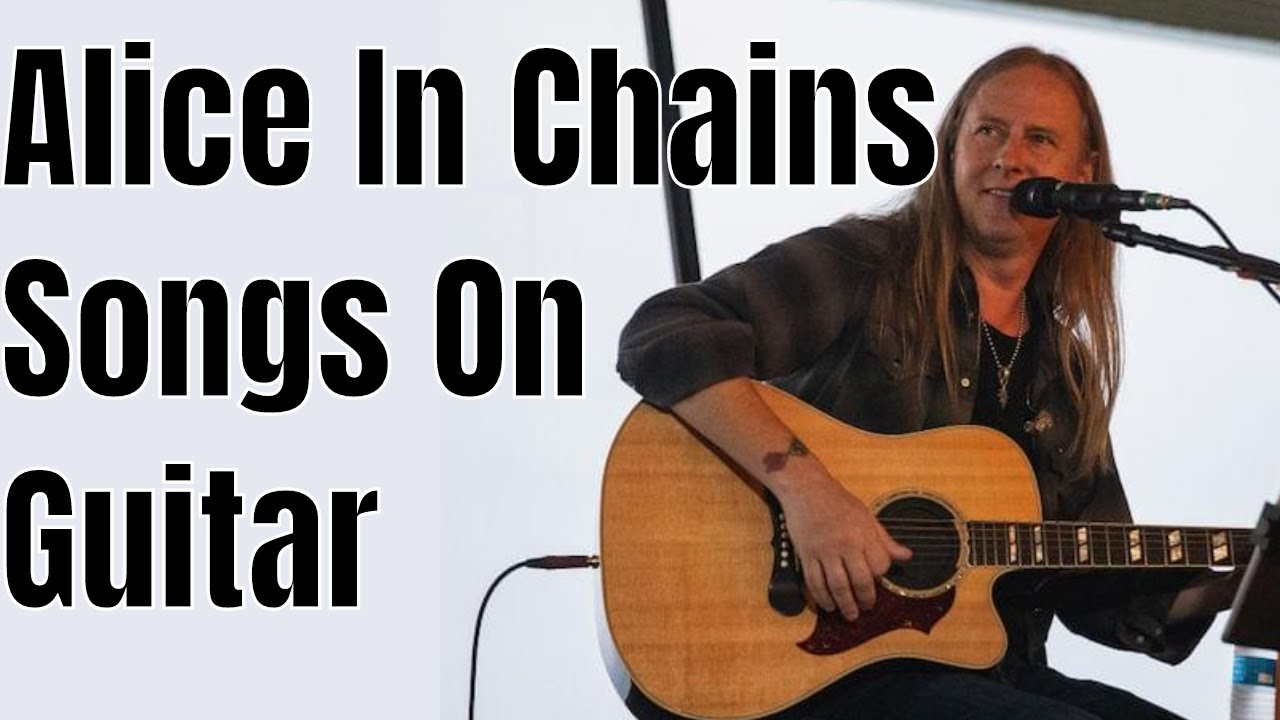Alice In Chains Acoustic Guitar Lesson Rooster No Excuses