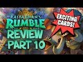 RASTAKHAN'S RUMBLE REVIEW - Part 10! | Card Review | Hearthstone