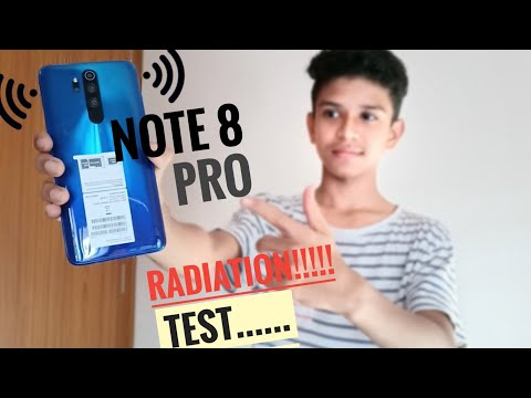 Redmi Note 8 Pro Radiation Test | SAR Value!!