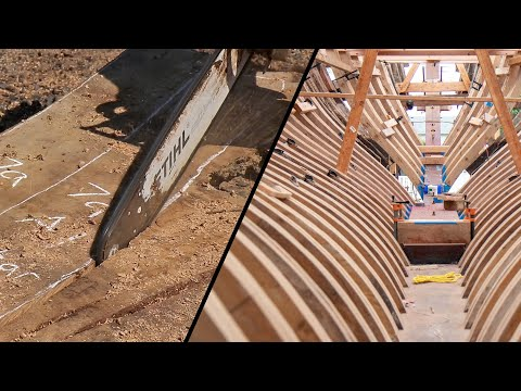 The Life Of A Futtock! Reframing 1910 Yacht (Tally HO EP54)
