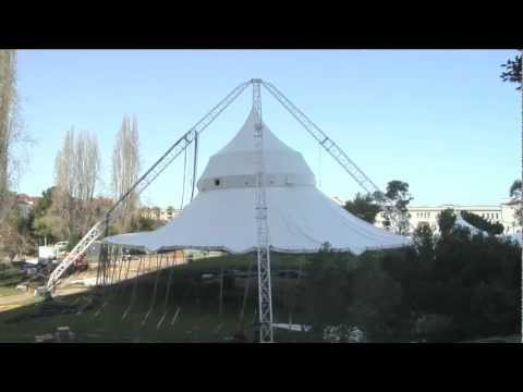 threesixty Theatre Tent - construction time-lapse