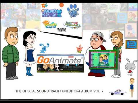 Go!Animate: The FunEditor4 Music Soundtrack P14# - Blue's Safari From blue's clues credits remake V9