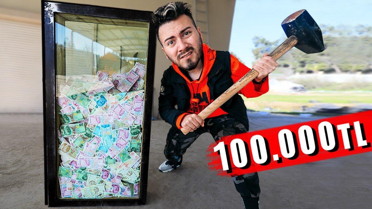 CAMI KIRAN 100.000 TL KAZANIR! (KIRILMAZ CAM)