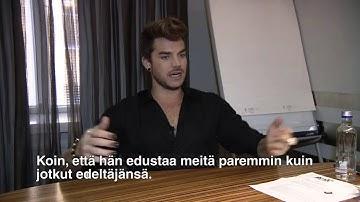 Adam Lambert's interview with hs.fi