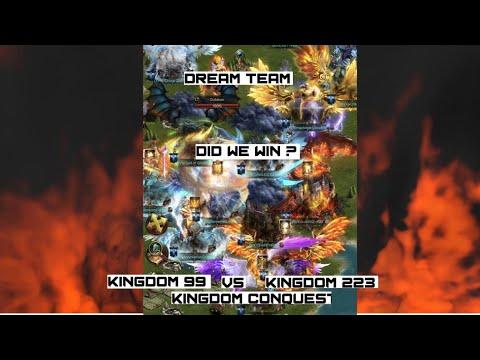 Clash Of Kings - KD99 Vs KD223 - Defending Rallies - Dream Team