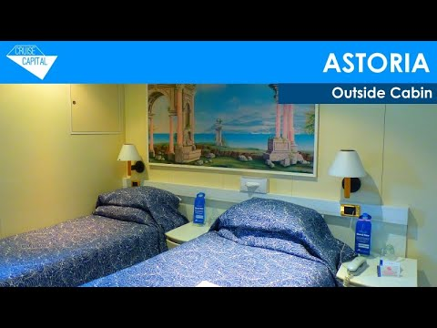 Outside Cabin on Astoria (Cruise & Maritime Voyages)