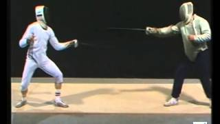 Fencing epee lesson | Lefin INSEP