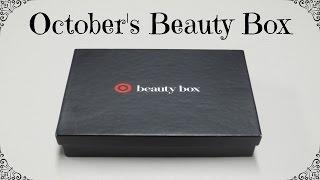 Target Beauty Box - October 2016 Autumn's A-List Box!