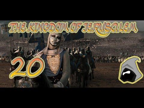Ep20 Kingdom of Jerusalem Broken Crescent Kingdoms 2.4 Mod Medieval 2 Total War