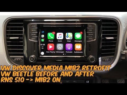 VW Discover Media Retrofit - RNS 510 to MIB2