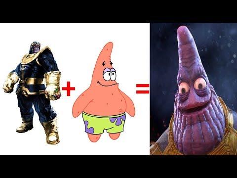 Thanos Como Desenho Animado