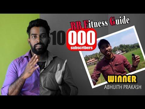   10K Subscribers Winner   Malayalam Video   Certified Fitness Trainer Bibin