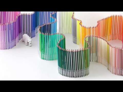 フェリシモ 500色の色えんぴつコンセプトムービー