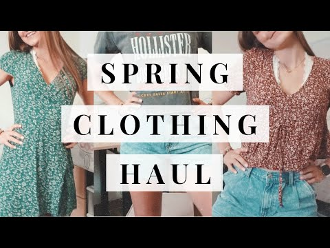 try-on-spring-clothing-haul:-american-eagle,-lululemon,-&-more!