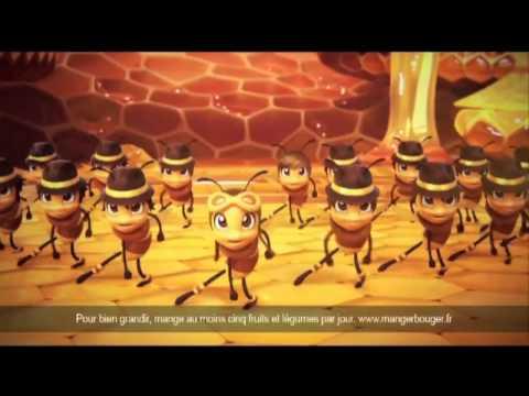 Voix-off / Chant Ludivine Aubourg - Miel Pops Coeur Kellogs