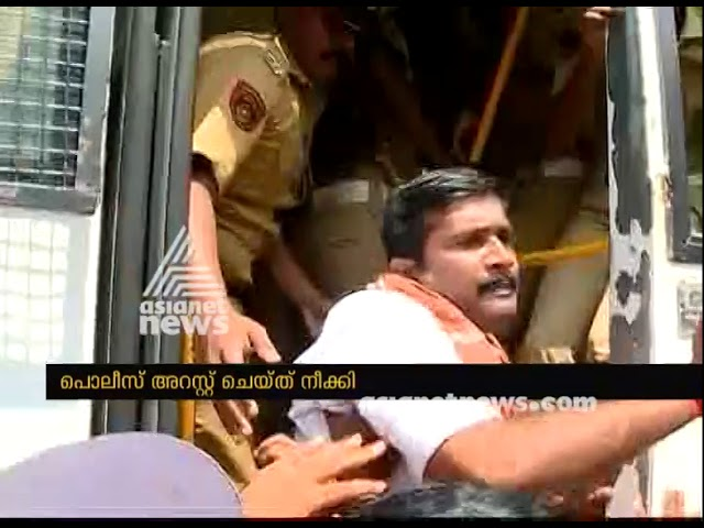 BJP activists arrested for violating section 144 at Nilakkal