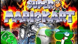 YOSHI'S GEPLANTER ANSCHLAG!🤯 | Let's Play Super Mario Kart Part 02