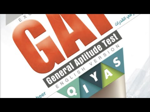 Download GAT Qudurat (English version) Math questions.