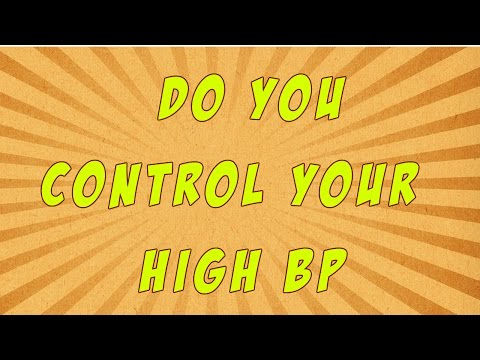 Do You Control Your High Blood Pressure
