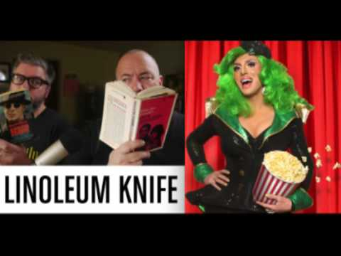 Hedda Lettuce and 'Linoleum Knife Podcast' on Derek & Romaine