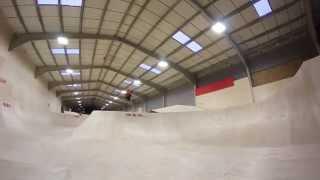 Adrenaline Alley New Build Skateboarding - Four One Four Skateparks