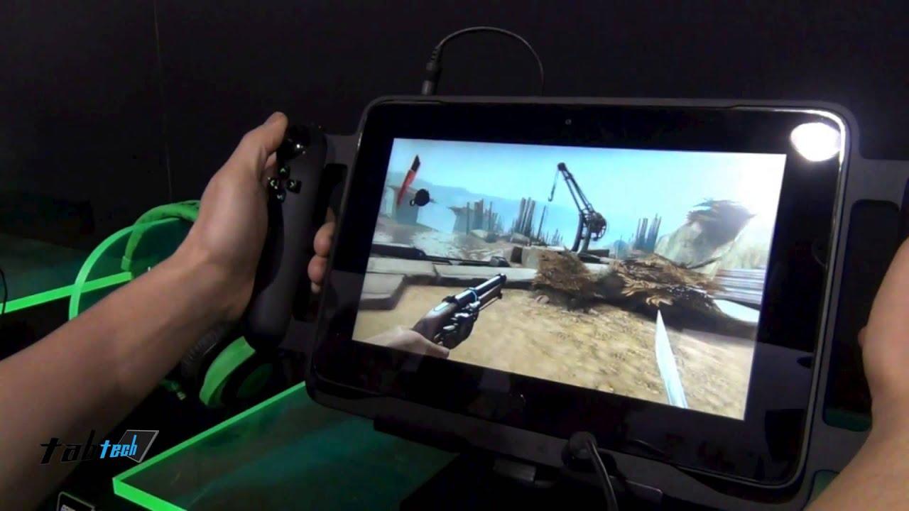 Razer Edge Gaming Tablet Hands On English Youtube