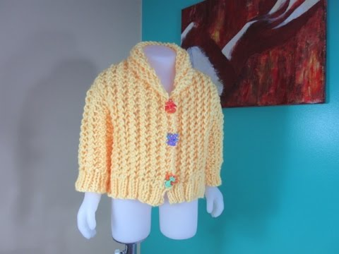 Baby Cable Knit Sweater