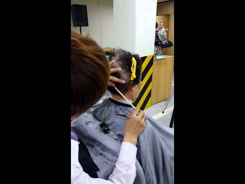 2015. 06. 02  할머니 머리 수업 모델