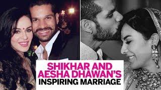 Shikhar and Aesha Dhawan's inspiring marriage | Shikhar Dhawan's Untold Love Story | Femina