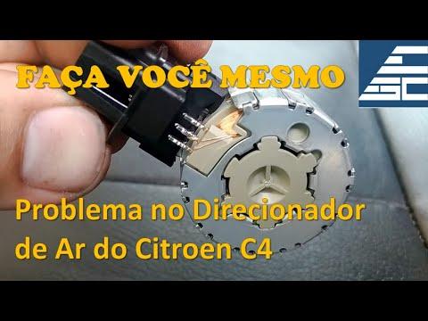 Direcionador do Ar Digital C4 - Como Desmontar o Porta-luvas para Acessar