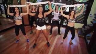 티파니 허리운동 10 minute booty shaking towel workout lose inches off your waist