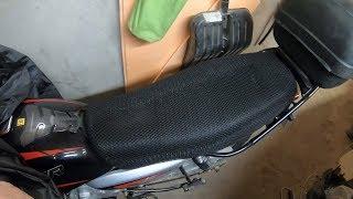 3D сетка на сиденье мотоцикла Bajaj Boxer BM150X