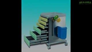 Vernipoll - медицинская мебель из нержавеющей стали, обзор продукции