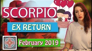 "Scorpio "" EX RETURNS"" They want you back February 2019  LOVE READINGS"