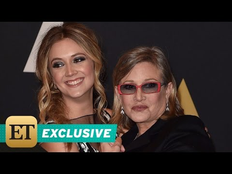 FLASHBACK EXCLUSIVE: Carrie Fisher and Daughter Bille Lourd's Cutest Moments Together