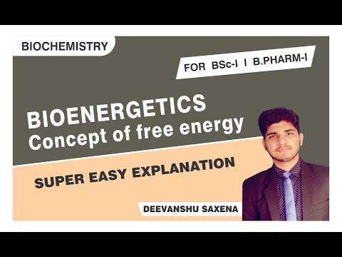 Concept of free energy I Bioenergetics I Biochemistry